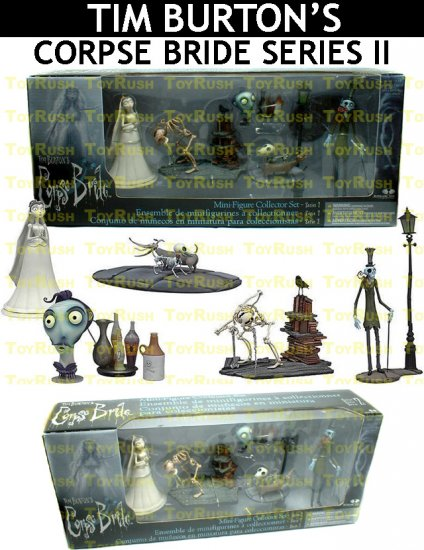 TIM BURTON'S Corpse Bride : Mini-Figure Collector Set (Series 2)