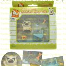 HAMTARO PLAYSET from Epoch Japan : HC-29 BOSS Figure & Accessories Set (Last Set)