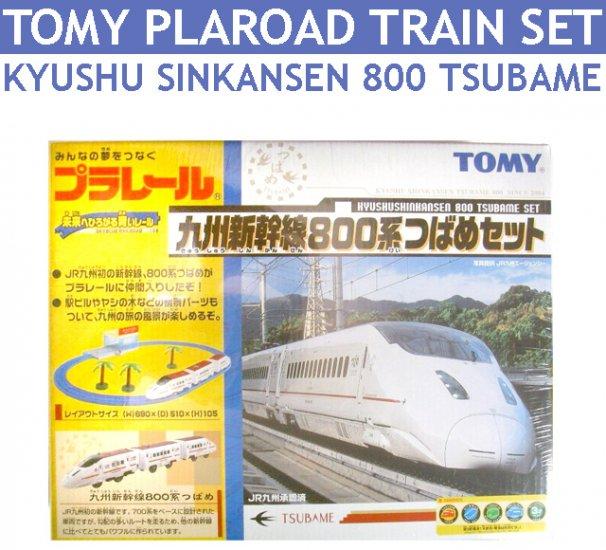 Tomy Plaroad Set : Train Set Kyushu Sinkansen 800 Tsubame