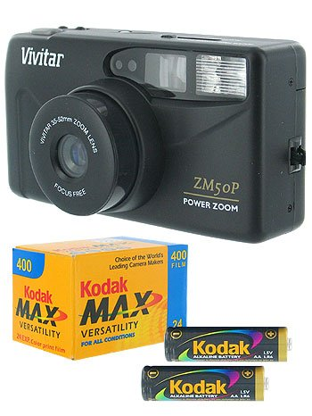 Vivitar 35MM Power Zoom Camera