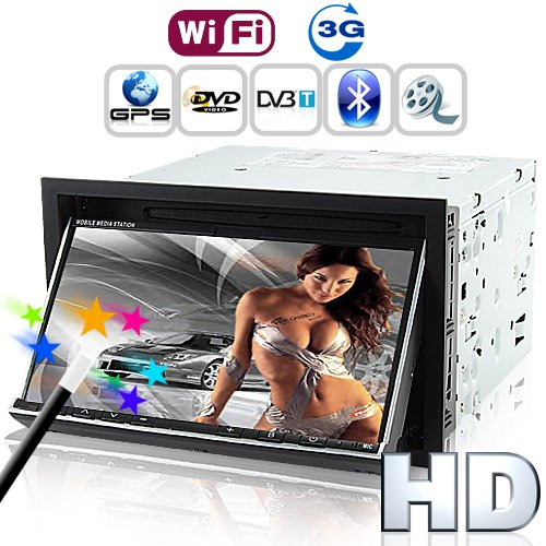 Road Emperor in Dash Car DVD with 3G Internet - 2 DIN GPS DVB-T [GC135089]