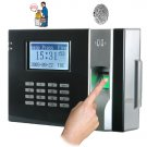 Fingerprint Time Attendance and Door System - Black [GC135097]