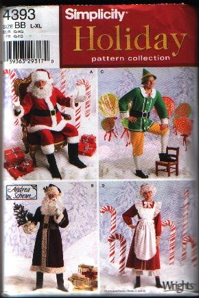 Costume Patterns - From Scary to Easy - Girls, boys, s