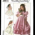 Simplicity 8987 girls flower girl dress size 5