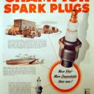 Champion Spark Plugs 1942 WW II Ad