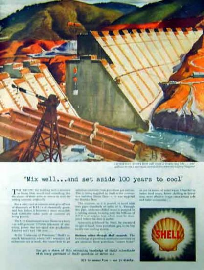 Shell Oil 1942 WW II Ad