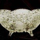 American Brilliant Cut Crystal Glass Fruit Bowl