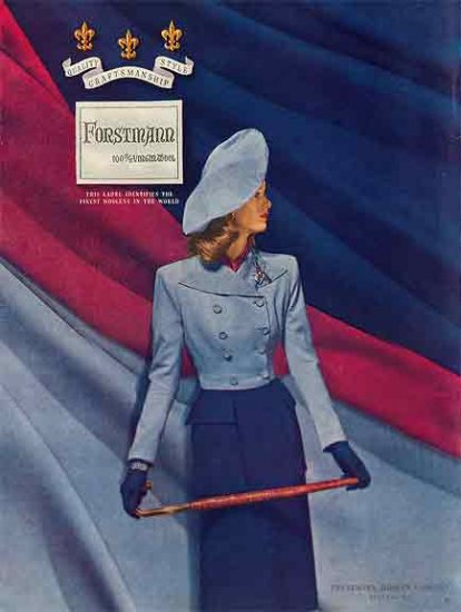 Forstmann AD 1946 - 100% Virgin Wool