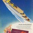 Matson Ocean Liner AD 1946 - Towards Clearing Horizons