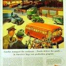 GM Truck & Coach 1942 WW II Ad Full Color
