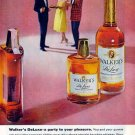 WALKER's BOURBON 1959 Ad - Party to Your Pleasure