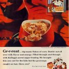 FROSTED FLAKES 1959 AD - Tony the Tiger