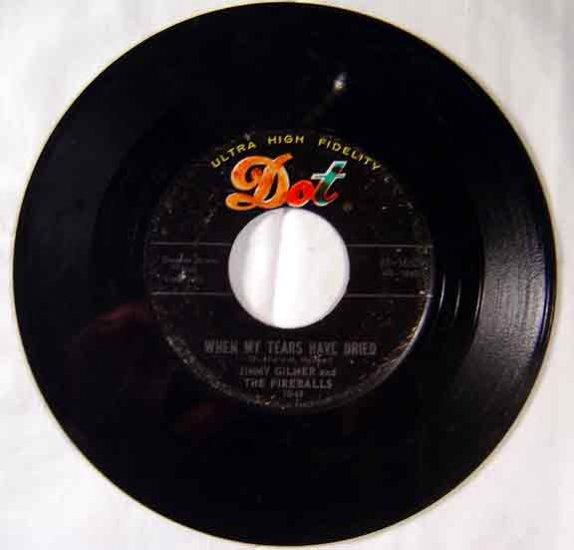 Jimmy Gilmer & the Fireballs- DAISY PETAL PICKIN 45 RPM