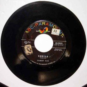 Tommy Roe SHEILA 1962 ABC 45 RPM Single