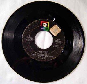 Billy Crash Craddock - RUB IT IN 1974 45 rpm