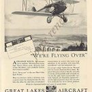 GREAT LAKES AIRCRAFT 1929 Print Ad