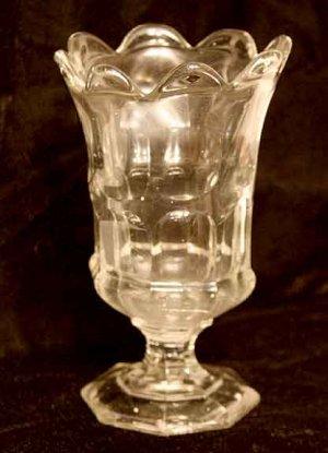 Early American Flint Glass Vase