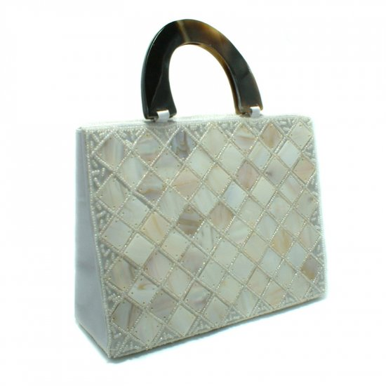 Mother of Pearl Evening Purse Bag