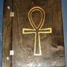 Blank Book Of Shadows - Ankh