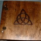Blank Book Of Shadows - Triquetra
