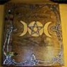Pentacle Triple Moon Book of Shadows