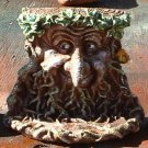 Greenman Birdfeeder/Candle Holder