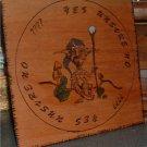 Woodland Gnome Pendulum Board