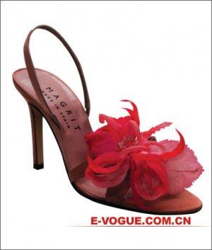 flower high heels
