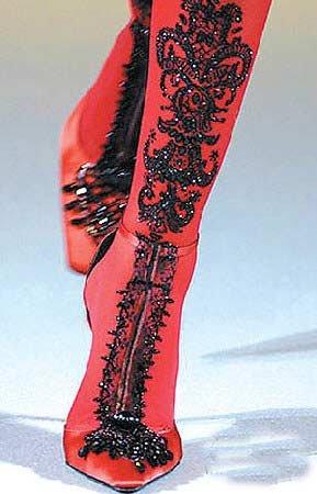boots & high heels