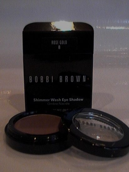 BOBBI BROWN SHIMMERWASH EYESHADOW 8 ROSE GOLD