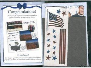 "Creative Memories ""Thanks To You"" USA Page Kit"