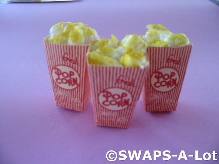 Mini Movie Popcorn Box SWAPS Kit for Girl Kids Scout makes 25
