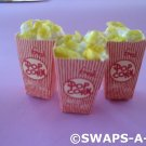 Mini Movie Popcorn Box SWAPS Kit for Girl Kids Scout makes 25