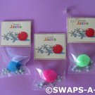 Mini Jacks Game SWAP, SWAPS Kit  for Girl Kids Scout makes 25