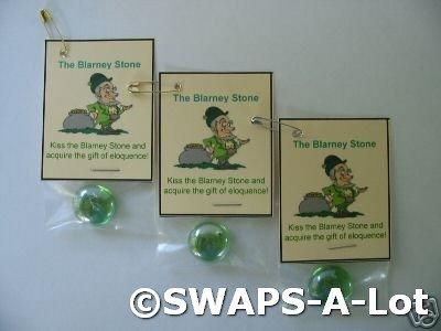 Mini Irish Blarney Stone Ireland Thinking Day SWAPS Kit for Girl Kids Scout makes 25