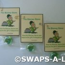 Mini Irish Blarney Stone Ireland Thinking Day SWAPS Kit for Girl Kids Scout makes 25