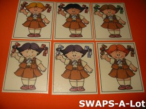 Mini Little Bits Brownie SWAPS Kit for Girl Kids Scout makes 25