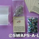 Mini Seeds of Friendship SWAPS Kit for Girl Kids Scout makes 25
