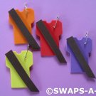 Mini T-Shirt Brownie Sash SWAPS Kit Girl Kids Scout makes 25