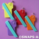 Mini T-Shirt Junior Sash SWAPS Kit Girl Kids Scout makes 25