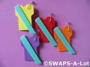 Mini T-Shirt Junior Sash SWAPS Kit Girl Kids Scout makes 25