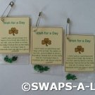 Mini Irish for a Day SWAPS Kit for Girl Kids Scout makes 25