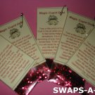 Mini Magic Cupid Dust SWAPS Kit for Girl Kids Scout makes 25