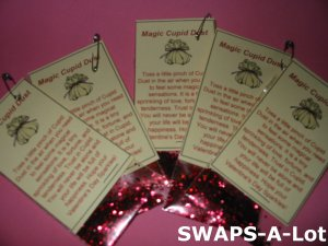 Mini Magic Cupid Dust Girl Scout SWAPS Kids Craft Kit makes 25