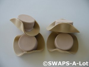 Mini Cowgirl Hat Tan SWAPS Kit Girl Kids Scout makes 25