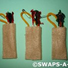 Mini Camp Quiver Arrows Archery SWAPS Kit for Girl Kids Scout makes 25