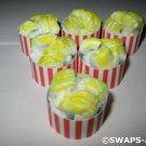 Mini Movie Popcorn Tub SWAPS Kit for Girl Kids Scout makes 25