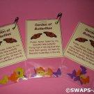 Mini Garden of Butterflies SWAPS Kit for Girl Kids Scout makes 25
