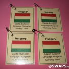 Mini Hungary: Flag, Capital Thinking Day Girl Scout SWAPS Kids Craft Kit makes 25