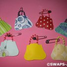 Mini Pretty Girl Purse Bead Handle Girl Scout SWAPS Kids Craft Kit makes 25